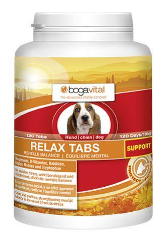 Relax-Tabs Support Bogavital - zur Unterstützung der mentalen Balance