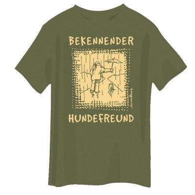 T-Shirt - Bekennender Hundefreund