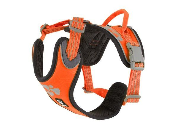 Hurtta Weekend Warrior Geschirr neon orange
