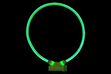 Lumitube Leuchthalsband S-M 15-50cm verstellbar