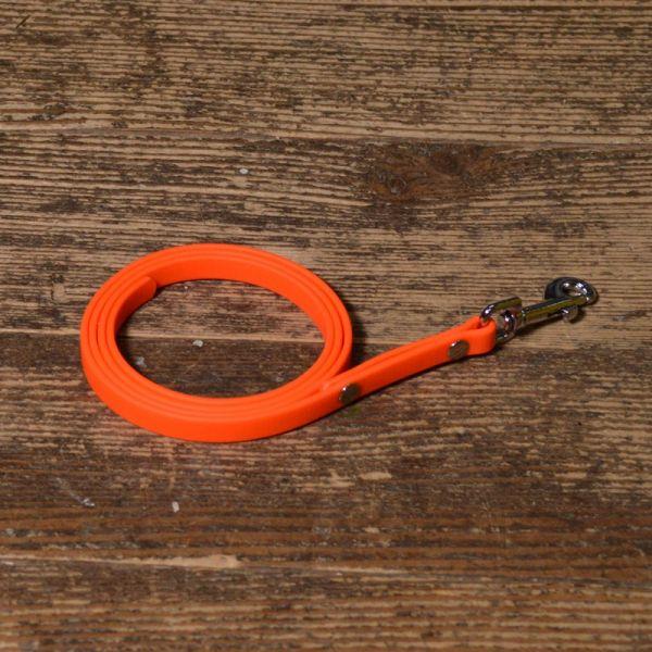 Schlepp,- Führ-Leine für Welpen und kleine Hunde Biothane extra dünn, extra leicht