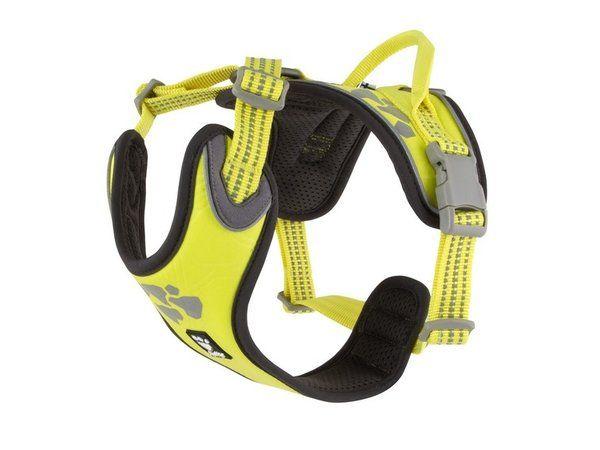Hurtta Weekend Warrior Geschirr neon gelb